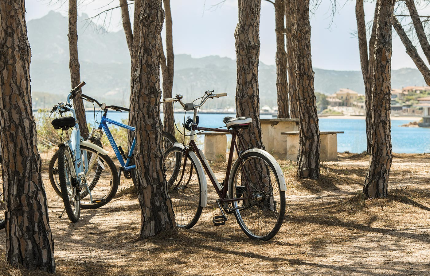 A bike trip along the seaside in Sardinia