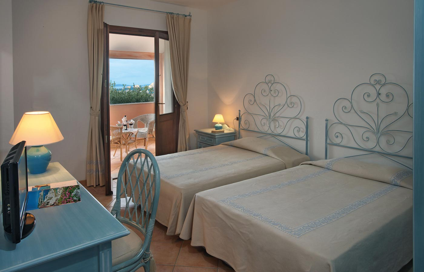 Dream rooms at your dream holiday accommodation in Sardinia
