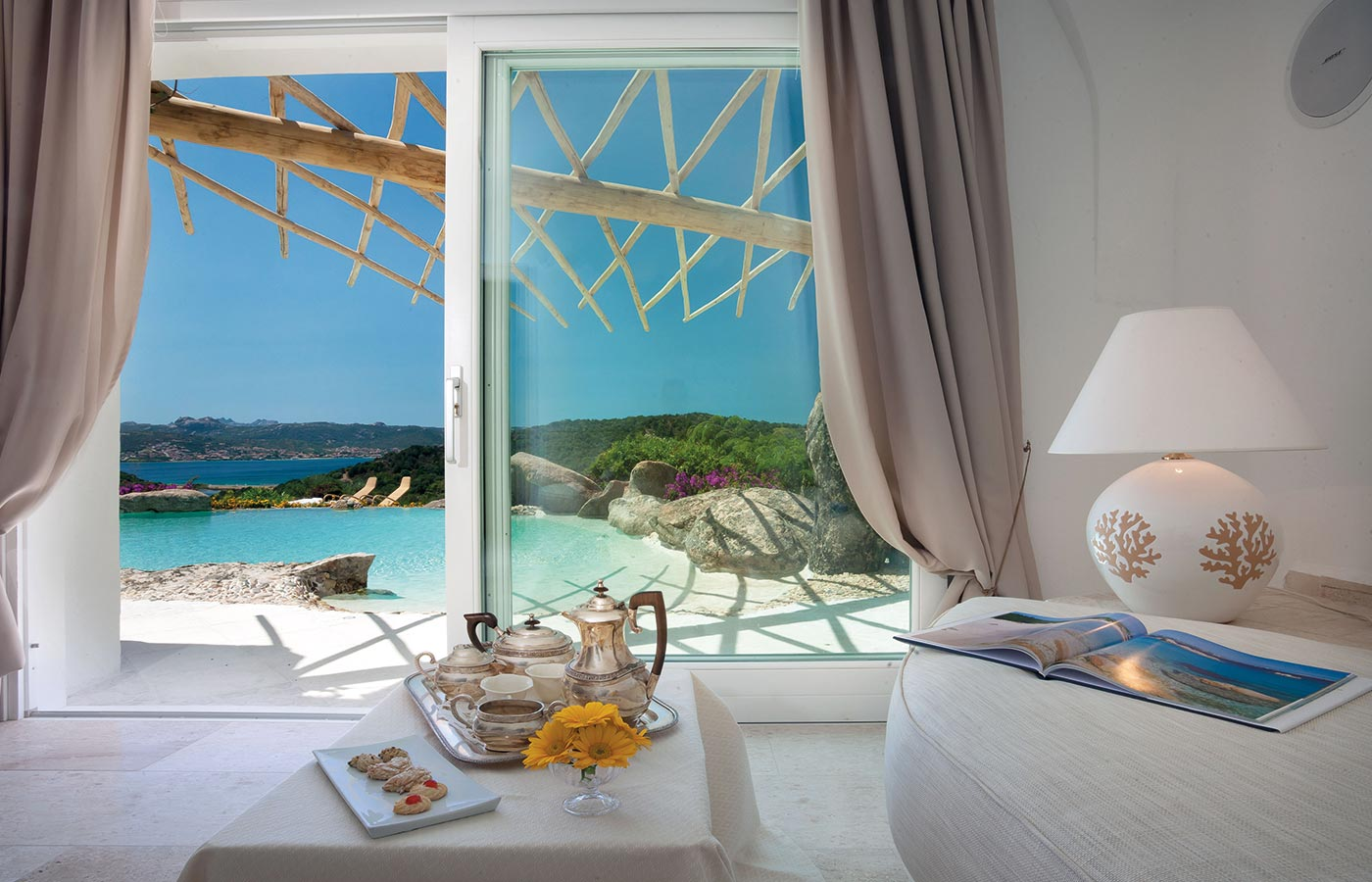 Luxury hotel in Costa Smeralda with private pool